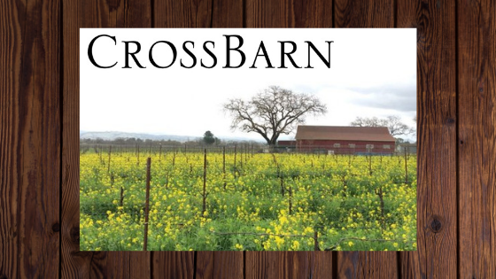 Photo used with permission from CrossBarn Winery